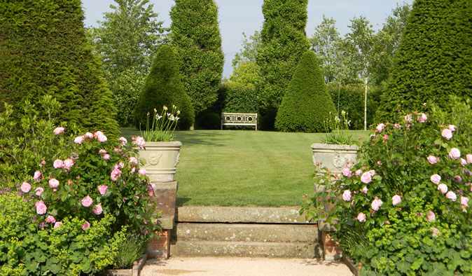 A garden design in Northamptonshire